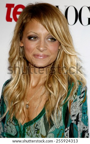 Nicole Richie attends the Teen Vogue Young Hollywood Party held at the Sunset Tower Hotel in Hollywood, California on September 21, 2006.  - stock photo
