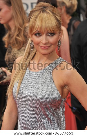 Nicole Ritchie at the 69th Golden Globe Awards at the Beverly Hilton Hotel. January 15, 2012  Beverly Hills, CA Picture: Paul Smith / Featureflash - stock photo