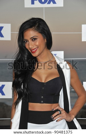 Nicole Scherzinger at the Fox TV Summer 2011 All-Star Party at Gladstones Restaurant, Malibu. August 5, 2011  Malibu, CA Picture: Paul Smith / Featureflash - stock photo