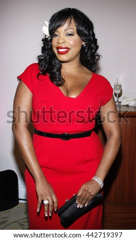 Niecy Nash at the Essence Black Women in Hollywood Luncheon held at the Beverly Hills Hotel in Beverly Hills, USA on February 19, 2009. - stock photo