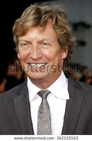 """Nigel Lythgoe at the Los Angeles premiere of """"Step Up Revolution"""" held at the Grauman's Chinese Theatre in Los Angeles, California, United States on July 17, 2012.   - stock photo"""