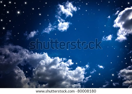 Night Sky - stock photo