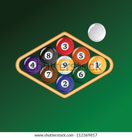 9 Ball Stock Photos Images Amp Pictures Shutterstock