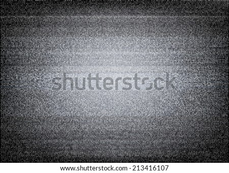No signal TV illustration.  Error concept - stock photo