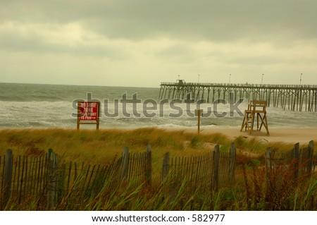 No Surf Zone - stock photo