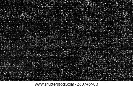 Noise texture paper stains for dots pattern graphic design on black and white grain background. Close up. - stock photo
