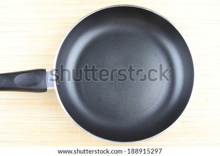 Non stick Frying pan for cooking . - stock photo