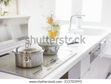 Non stick kitchen appliances  - stock photo