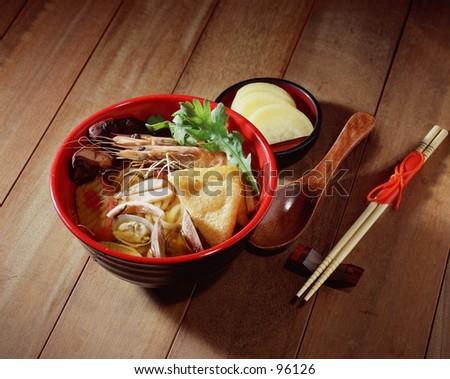 Noodles - stock photo