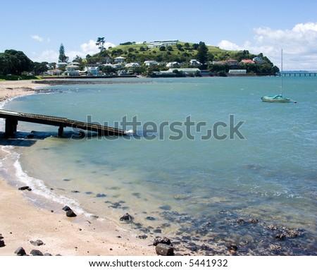 North Head at Devonport, Auckland, New Zealand - stock photo