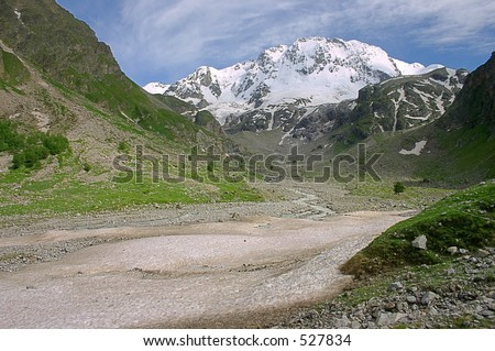 Northern Caucasia, Ulutau - stock photo