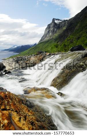 Northern Sweden - stock photo