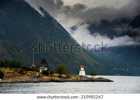 Norway - stock photo
