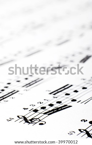 Note pad. - stock photo