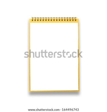 notebook - stock photo