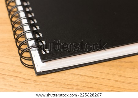 Notebook stationary - stock photo