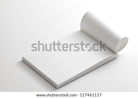 Notepad - stock photo