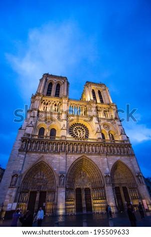 Notre Dame De Paris - stock photo