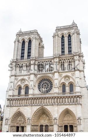 Notre Dame (Paris) - stock photo