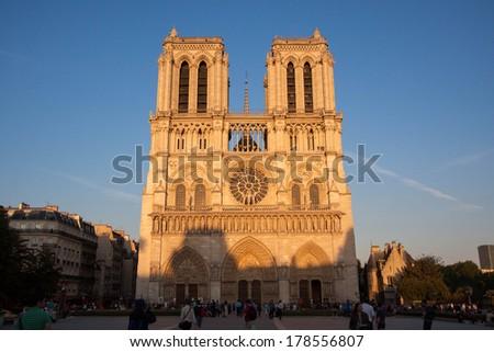 Notre Dame, Paris - stock photo
