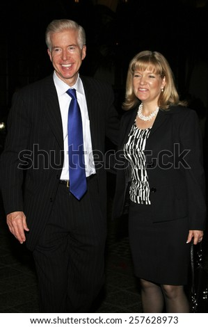 November 21, 2005. Gray Davis and Sharon Davis attend the Los Angeles Free Clinic's 29th Annual Dinner Gala at the Regent Beverly Wilshire in Beverly Hills, California United States.  - stock photo