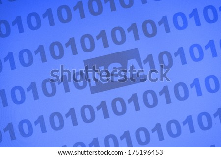 NSA - stock photo