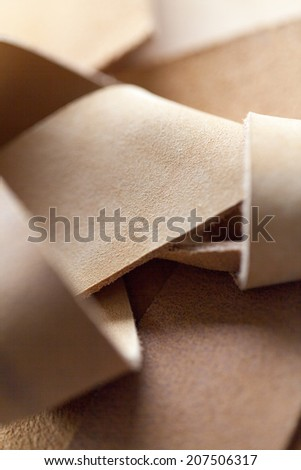nubuck genuine suede leather textured background a luxurious soft material made from animal skin and used in quality clothing - stock photo
