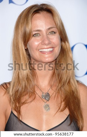 Numb3rs star DIANE FARR at the CBS Summer Press Tour Stars Party at the Rose Bowl in Pasadena, CA.  July 15, 2006  Pasadena, CA  2006 Paul Smith / Featureflash - stock photo