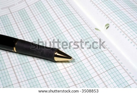 Number Crunching - stock photo