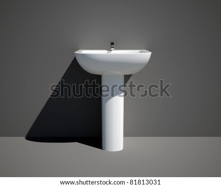 nuova sink front - stock photo