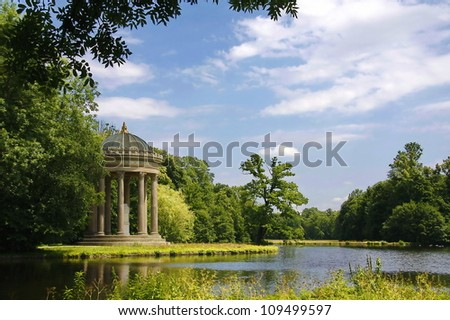 Nymphenburg Palace - stock photo