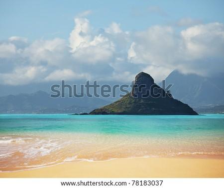 Oahu island - stock photo