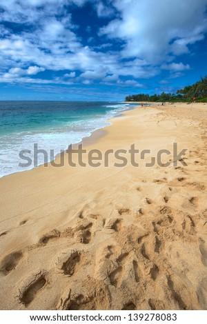 Oahu Island North Shore, Hawaii - stock photo