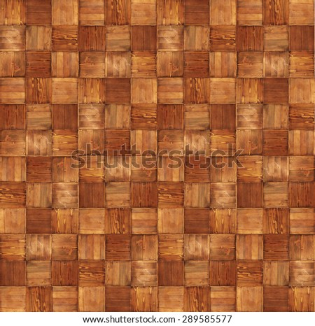 Oak parquet wood texture  - stock photo