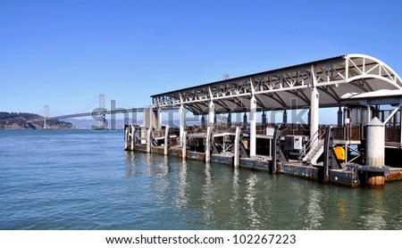 Oakland bay - stock photo
