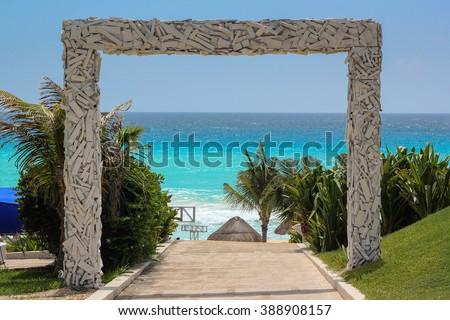 Oasis Cancun - Mexico - stock photo
