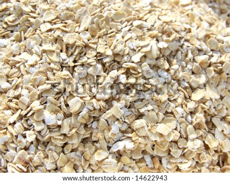 Oat background - stock photo