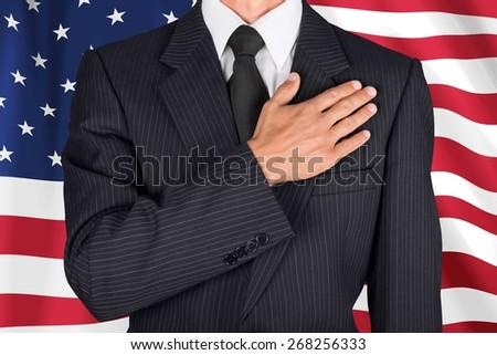 Oath, Loyalty, Respect. - stock photo