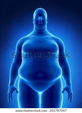 Obesity concept as footage available in my portfolio - stock photo