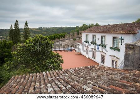 Obidos, Portugal - stock photo