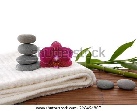 Object for the spa. - stock photo