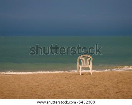 ocean emoution - stock photo