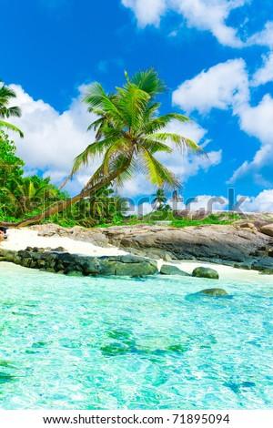 Ocean Heaven Beach - stock photo