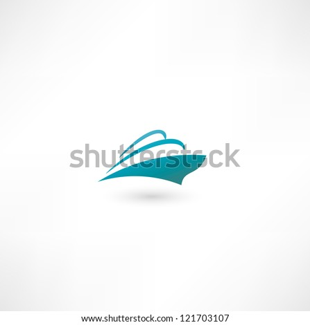 Ocean Liner. Cruise Ship - stock photo