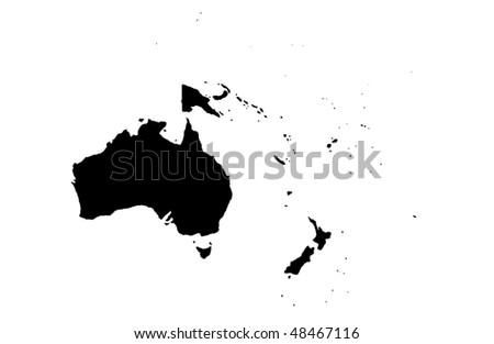 Oceania - stock photo