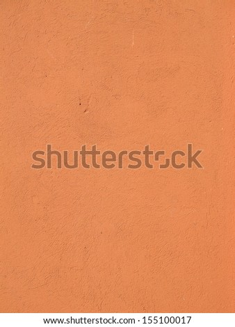 Ocher wall background - stock photo