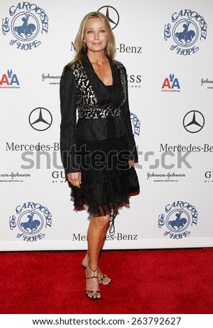 October 25, 2008. Bo Derek at the 30th Anniversary Carousel Of Hope Ball held at the Beverly Hilton Hotel, Beverly Hills.  - stock photo