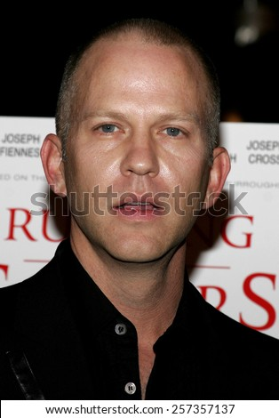 """October 10, 2006. Ryan Murphy attends the World Premiere of """"Running with Scissors"""" held at the Academy of Motion Picture Arts and Sciences in Beverly Hills, California United States. - stock photo"""