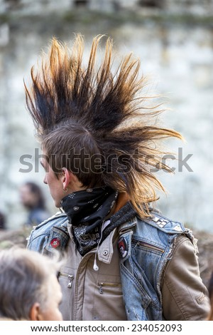 Punk Rock Stock Photos Images Amp Pictures Shutterstock