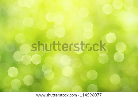 off focus green abstract background - stock photo